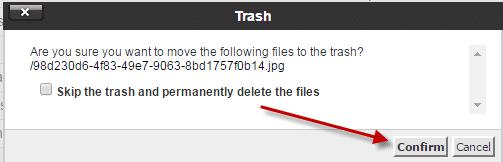 كيفية حذف ملف قديم من لوحة تحكم السى بانل  (Cpanel) 4