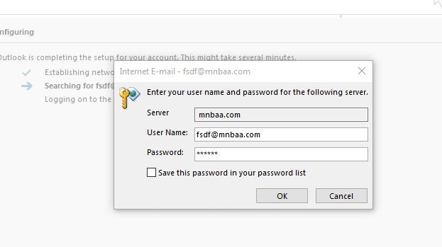 كيفية الدخول على البريد الألكترونى عبر (OutLook)   اصدار 2010 9