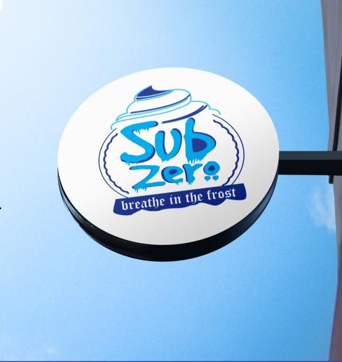 شعار وهوية متكامله سب زيرو 6